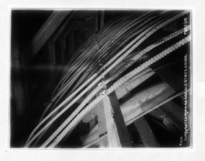 Corrugated rods north side Old State House, Boston, Mass., March 20, 1903