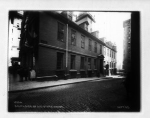 South side of Old State House, Boston, Mass., September 14, 1905