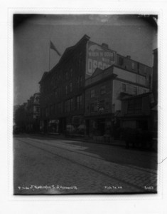 East side of Washington St., south of Harvard St., Boston, Mass., March 20, 1905
