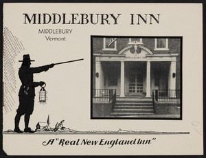 Brochure for the Middlebury Inn, Middlebury, Vermont, undated