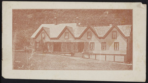 Brochure for the Pisgah Lodge, Willoughby Lake, Vermont, undated