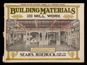 Building materials and mill work, Sears, Roebuck and Co., Chicago, Illinois