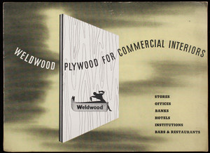 Weldwood Plywood for commercial interiors, United States Plywood Corporation, Weldwood Building, New York, New York, 1946