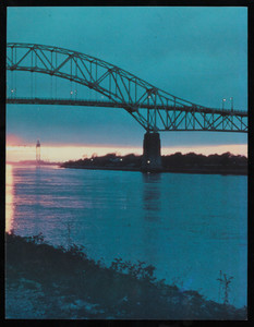 """50th Anniversary Cape Cod Canal Bridges, Bourne, Massachusetts, 1935-1985"" (2 copies)"