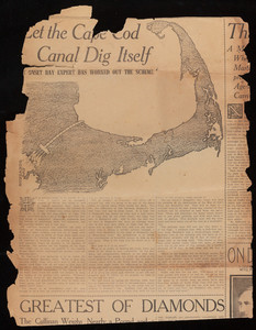 """Let the Cape Cod Canal Dig Itself"""