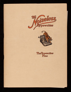 Noiseless Typewriter, The Noiseless Typewriter Co., 320 Broadway, New York, New York