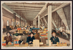 Quaker Oats packing room, The American Cereal Co., Chicago, Illinois, 1893