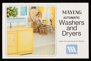 Maytag Automatic Washers and Dryers, The Maytag Cmpany, Newton, Iowa