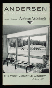 Andersen Flexivent Window, one of 7 famous Andersen Windowalls, manufactured by Andersen Corporation, Bayport, Minnesota