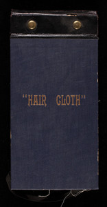 Hair cloth, samples, location unknown, undated