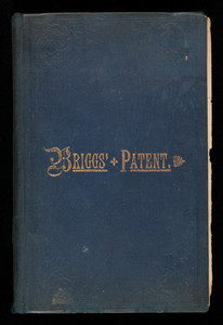 Briggs' patent transferring papers, patented for the United States of America, sole inventors and patenters, Briggs & Co., New York, New York