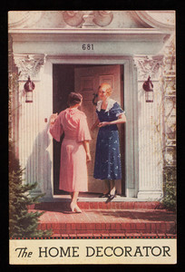 Home decorator, joy of color book, 1933 edition, Sherwin-Williams Co., Cleveland, Ohio