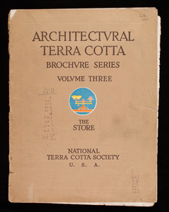 Architectural Terra Cotta Brochure Series Volume Three, The Store