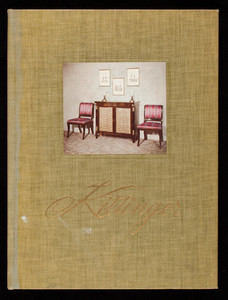 Kittinger Furniture, a study in photographs, catalog no. 80, Kittinger Company, Buffalo, New York