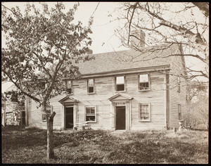 Abraham Browne House before restoration