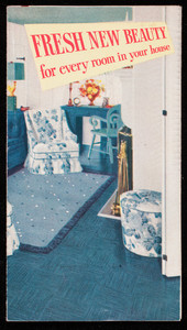 Fresh new beauty for every room in your house, Armstrong's linoleum floor, Armstrong Cork Company, Lancaster, Pennsylvania, undated