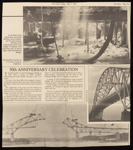 """50th Anniversary Celebration,"" The Cape Codder, May 7, 1985"