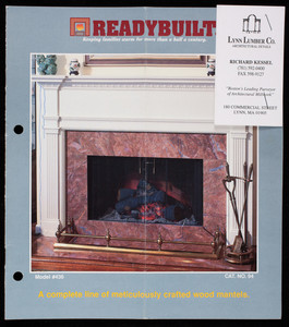 Readybuilt, a complete line of meticulously crafted wood mantels, catalog no. 94, The Readybuilt Products Company, Baltimore, Maryland