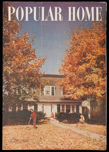 Popular home, fall 1946, volume 3, issue 7, October 1946, United States Gypsum, 300 West Adams Street, Chicago, Illinois