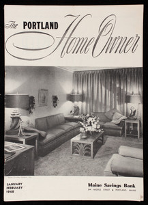 Portland home owner, January February 1948, Maine Savings Bank, 244 Middle Street, Portland, Maine