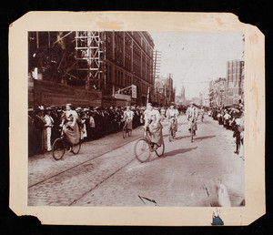 Boston Bicycle Parade of 1896