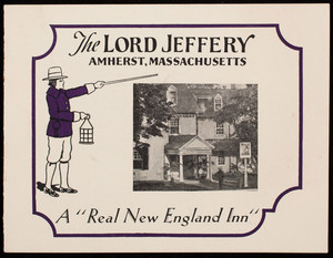 Brochures for The Lord Jeffery, Amherst, Mass.