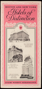 Boston and New York hotels of distinction