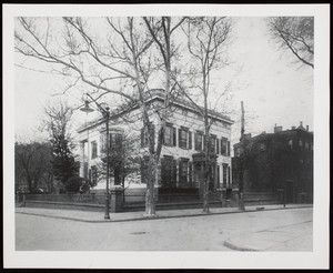 Exterior view of Henry C. Bowen House, Brooklyn, N.Y.
