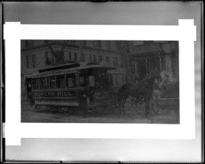 Horse car, West End Street Railway