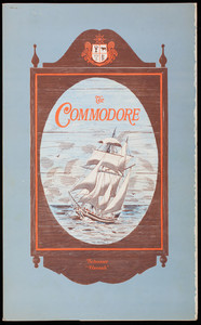 Commodore, menu, Route 1A off 128, Beverly, Mass.