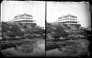 Pacific House; J.H. Williams, photographer