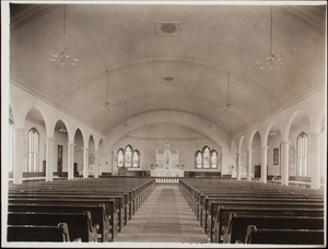 Interior view of St. John's Church, Swampscott, Mass.