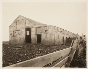Piggery, rear left corner, Long Island, Boston Harbor, Boston, Mass.