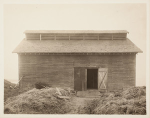 Barn (old ice house), Long Island, Boston Harbor, Boston, Mass.