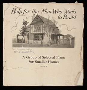Help for the man who wants to build, a group of selected plans for smaller homes, vol. 3, Minneapolis, Minnesota
