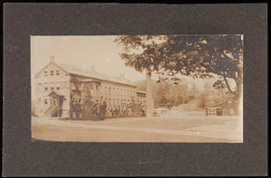 Exterior view of E.A. Bliss Company building, North Attleboro, Mass.