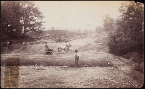 Construction of Circuit Drive, Franklin Park, Roxbury, Mass.