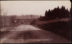 Construction of Williams Street, east of Walnut Street, Franklin Park, Roxbury, Mass.