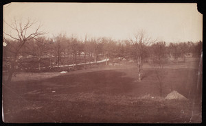 View of Ellicott Arch and Circuit Drive in Franklin Park, Roxbury, Mass.
