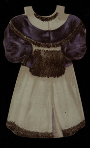 Paper doll, J. & P. Coats' Spool & Crochet Cottons, location unknown