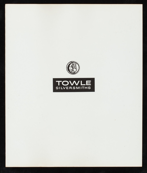 Towle's fall program 1966, Towle Mfg. Company, Newburyport, Mass.