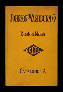 Catalogue of the Johnson-Washburn Co., dealers in iron pipe, fittings and supplies for users of steam, gas and water heating apparatus, 87-93 Haverhill Street, Boston, Mass.