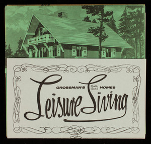 Leisure living, Grossman's Quality Crafted Homes, Route 128 Southeast Expressway, Braintree, Mass.