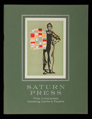 Saturn Press, fine letterpress greeting cards & papers, 463 Atlantic Road, Post Office Box 368, Swan's Island, Maine