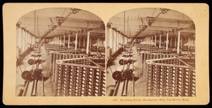 Spooling room, Mechanics' Mill, Fall River, Mass.