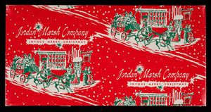 Box, joyous merry Christmas, Jordan Marsh Company, Boston, Mass.