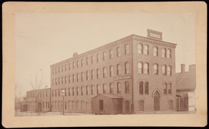 A. Nute & Sons Factory photograph, Farmington, New Hampshire, undated
