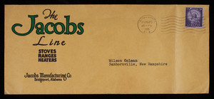 Letterhead, Jacobs Manufacturing Co., Bridgeport, Alabama