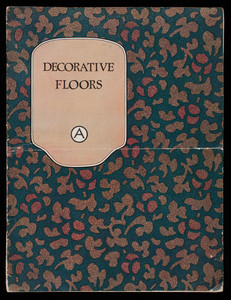 Decorative floors, Armstrong Cork Company, Linoleum Department, Lancaster, Pennsylvania