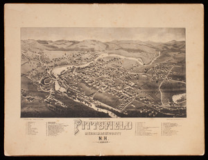 Pittsfield, Merrimack County, N.H., published by Geo. E. Norris, Brockton, Mass.